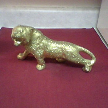 WEEPING GOLD  TIGER - Animals