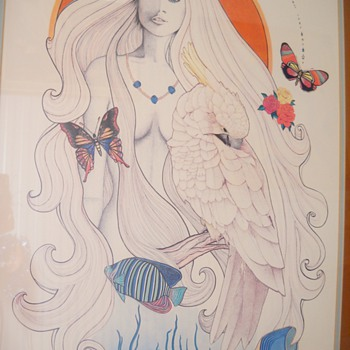 """Vintage """"Madeline"""" signed & numbered print - Posters and Prints"""