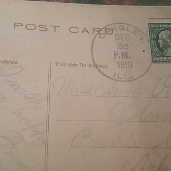 Early 1900 post cards - Postcards