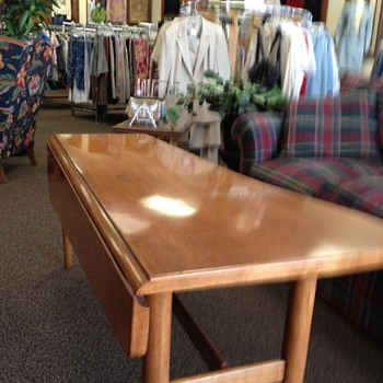 60's Piano hinged coffee table - Furniture