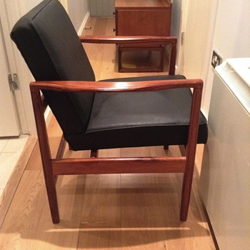 Danish(?) rosewood armchair