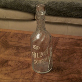 RSD CO HILL AND HILL SOURMASH - Bottles