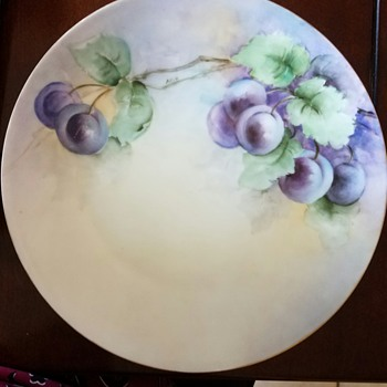 Plate found in Mom's China Cabinet from early 1900's?  1920's? - China and Dinnerware