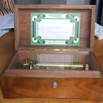 Thorens Spieldose Swiss Musical Box - Music Memorabilia