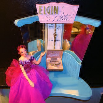 elgin motorized window display - Wristwatches