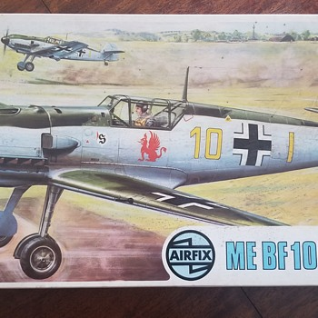 Messerschmitt BF 109E . Airfix - SUPER KIT - super empty  - Toys