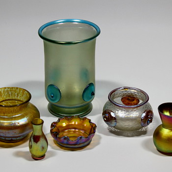 Here are some recently acquired pieces... - Art Glass
