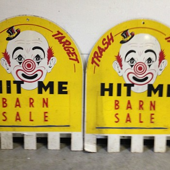 Carnival signs - Advertising