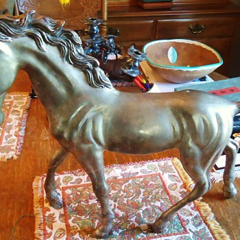 HI HO SILVER!!  It is the LONE  SIMON!!! on 12+ lb. Horse!!