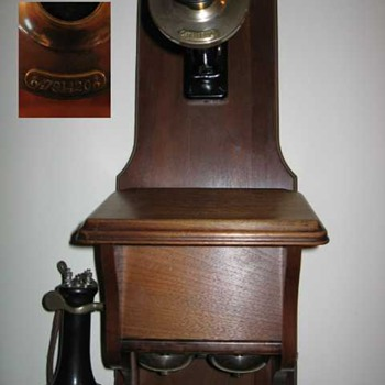 Western Electric 294 with Serial # Transmitter - Telephones