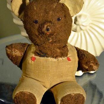 just an old teddy bear i've had since i was a little kid...