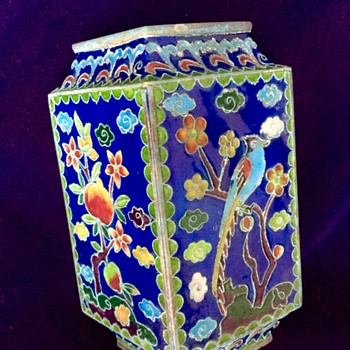 Small cloisonné vase - Asian
