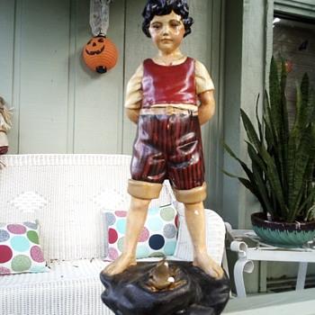 Chalkware statue - Figurines