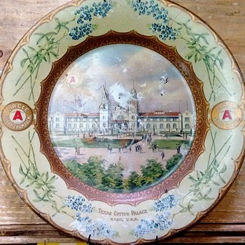 Cotton Palace plate, Waco,Texas - Advertising