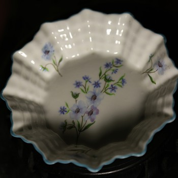 a little ruffled nut dish or something - Shelley, England - China and Dinnerware
