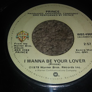 His First Hit..Prince..On 45 RPM Vinyl - Records