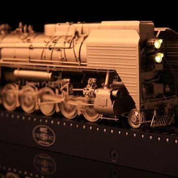 Chinese QJ Brass locomotive 1:87 ho scale.