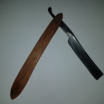 Antique joseph elliot straight razor