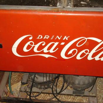coke electric cooler
