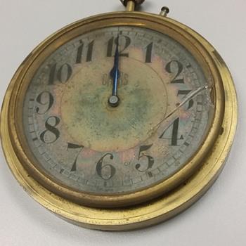 Barnum Trunk Co. Minneapolis CROSS Clock