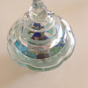 Glass Ornament Jar - Glassware