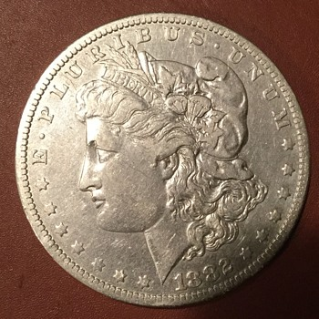 1882 silver dollar - US Coins