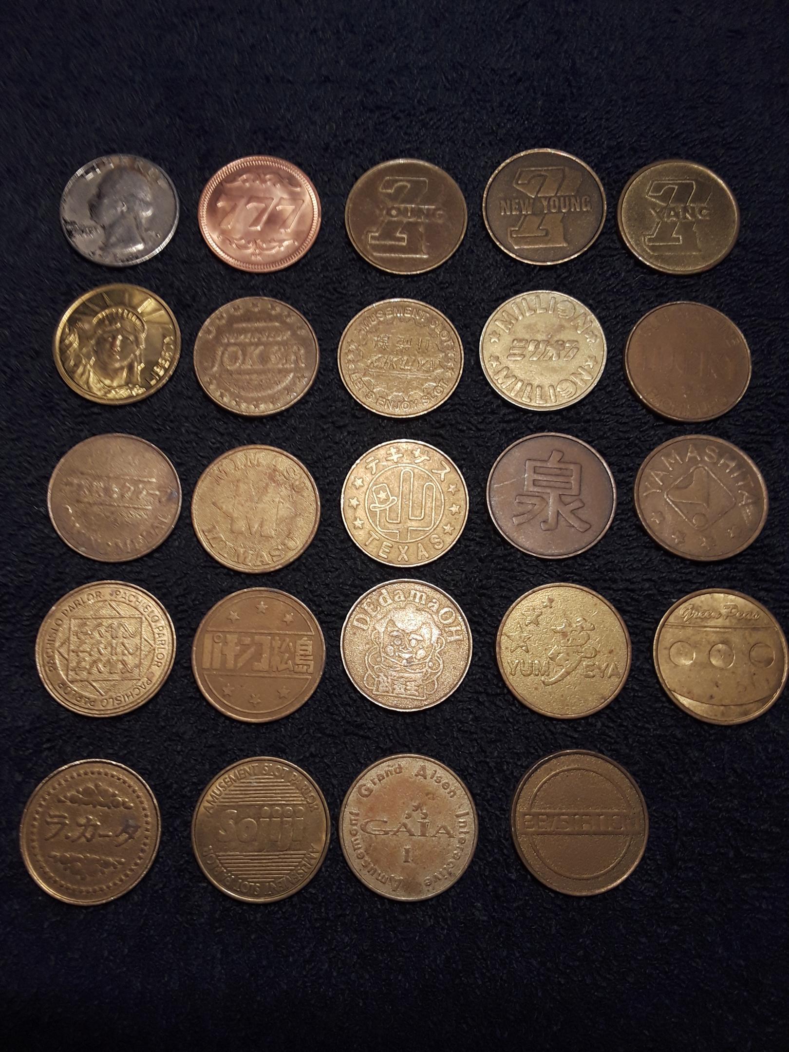 Pachislo coin worth money
