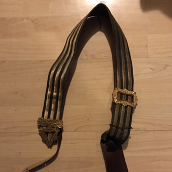 I need help, Soldiers belt ? Drum strap ?  - Military and Wartime