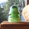 Green Star Insulator CD-162 Circa 1900-1904