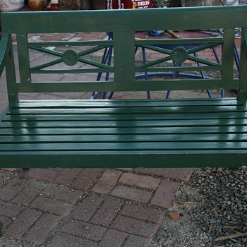 Beautiful Wooden Garden Bench - Furniture