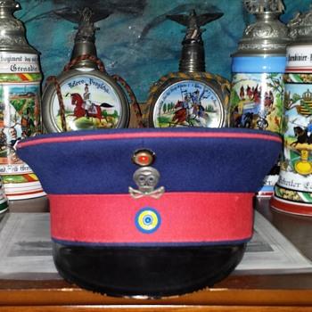Duchy of Braunschweig 92nd Infantry Regiment NCO's visor cap