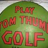 first miniature golf course sign.