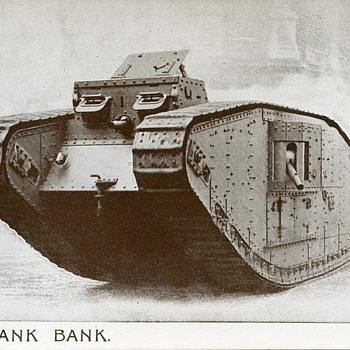 The Tank Bank - Postcards