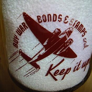 LONGHORN CREAMERY...ABILENE TEXAS QUART WAR SLOGAN - Bottles