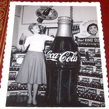 Orginial Photographs of Coke Displays - Coca-Cola
