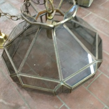 leaded glass - Lamps