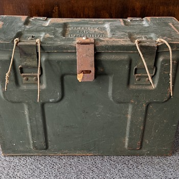 MK3 Military box. - Military and Wartime