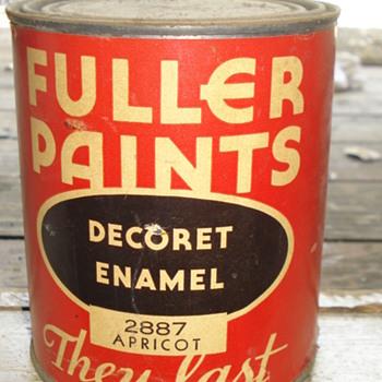 FULLER PAINTS DECORET ENAMEL 2887 APRICOT / PAMPHELET 1940's - Paper