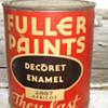 FULLER PAINTS DECORET ENAMEL 2887 APRICOT / PAMPHELET 1940's