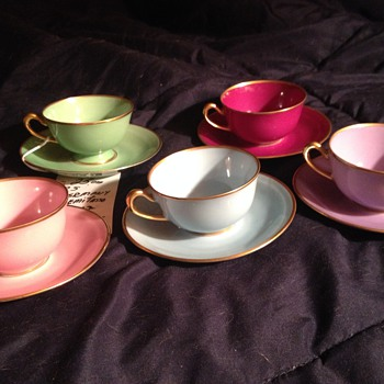 RS Germany Demitasse Cups - China and Dinnerware