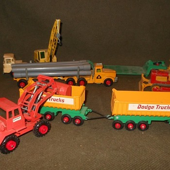 Multiple Matchbox Monday Crazy King Size Construction Crew - Model Cars