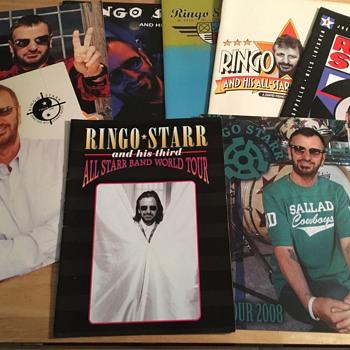 Ringo Starr tour programs... - Music Memorabilia