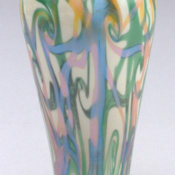 Durand Coil Vase c. 1925 - Art Glass