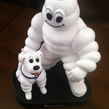 Michelin Man Bobble head. - Advertising