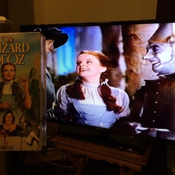Wizard Of Oz VHS Covid Rescue Tape  - Movies