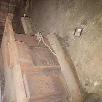 In my basement - Kitchen