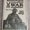 WW1 War Exposition Booklet