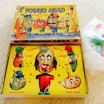 Vintage Mr. Potato Head Game - Games