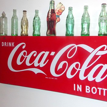 1960's Coca-Cola Bottle - Coca-Cola