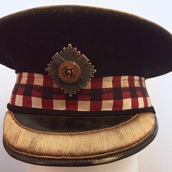 Scots Guards Officer's Forage cap. - Military and Wartime